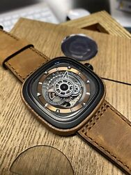 Sevenfriday P-series P2b/03-w Woody Ii Limited Edition X/450 Nfc Authentication