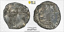 1618-21 Pt Bolivia 8r Eight Reales Pcgs Cleaned Vf Details