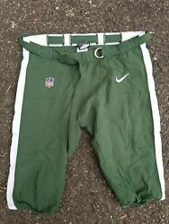 Mike Pennel Nike New York Jets Team Issued Nfl On-field Football Pants