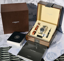 Longines Heritage Military 1938 Limited Edition L2.826.4.53.2 2019 N.1508 Nuovo
