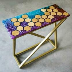 Epoxy Resin Dining Table Coffee Table 100 Handmade Luxury Design, Home Décor