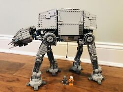 Lego Star Wars 10178 - Motorized Walking At-at 100 Complete W/ 2 Minifigures