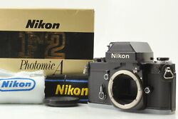 [boxed Brand New] Nikon F2 Photomic A Slr 35mm Film Camera W/ Box From Japan