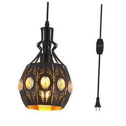Hanging Lamps Swag Lights Plug In Pendant Lightretro Stylevintage Loft
