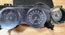 1969-1972 Gto Lemans Oem 140mph Speedo And Factory Gauges And Clock Used