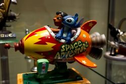 Extremely Rare Walt Disney Wdcc Lilo And Stitch Space Adventure Fig Le 750 Statue