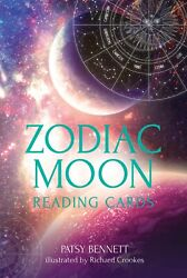 Zodiac Moon Reading Cards By Patsy Bennett New Wrapped By Publisher Pub 2021