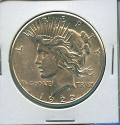 1922 S Peace Dollar Us Mint Coin Pq Silver Coin Better Date 1922-s Bu Ms++++
