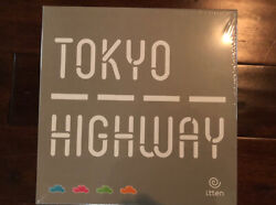Tokyo Highway Board Game By Itten Games New Sealed