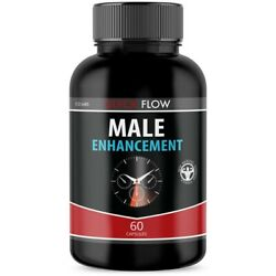 1 Pack Quick Flow Male Enhancement Support All Natural Increase Stamina 60ct