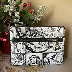 Nwt Coach 3578 Marvel Gallery Pouch Comic Book Print Wristlet Limited Ed 178
