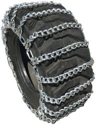 Snow Chains 13.6-16 14-17.5 Tractor Tire Chains Set Of 2