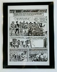 Production Art Justice League Of America 13 Pg. 23 Mike Sekowsky Art 8.5x11