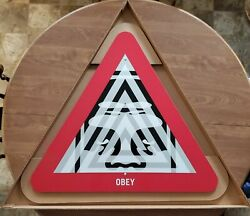 Shepard Fairey Obey Giant Unyielding Metal Street Sign Beyond The Streets /350