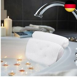 Amazefan Bath Pillow Luxury Bath And Spa Pillow With 4d Air Mesh Technology And 7