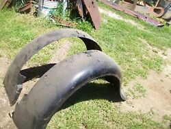 1932 1933 1934 Ford Panel Delivery Truck Rear Fenders Shop Truck Trog Rat Rod