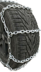 Snow Chains 35x12.5-18 7mm Square Alloy Tire Chains W/cams Spider Bungee