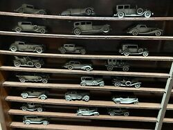 Pewter Model Antique Style Cars Automotive Vehicles Collection Lot