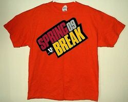 All American Rejects Flo Rida New Mtv Spring Break Concert Event T Shirt L