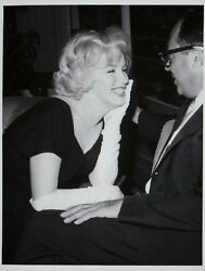 Marilyn Monroe Vintage 1960 Pin-up Press Photo Some Like It Hot