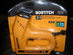 Bostitch Bte550z Heavy-duty Electric 2-in-1 Staple And Nail Gun New