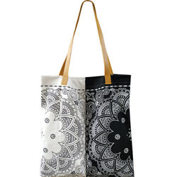 US Women Large Canvas Tote Bags Fashion Casual Shoulder Bag Ethnic Style Handbag $16.99