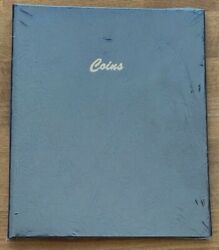 Dansco Coin Album 7000, Vinyl Pages, New 9 Pages Of Vinyl To Hold 108 2x2's