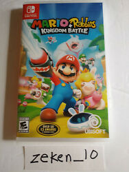 Mario + Rabbids Kingdom Battle For Nintendo Switch - Used