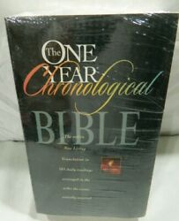 The One Year Chronological Bible Nlt New Softcover Unused