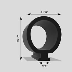 Rv Slide Out Seal 50and039 Motorhome Slide Seal 5/8 Bulb Fits 3/8 Slot Rubber