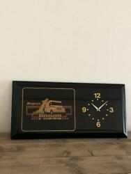 Snap On Wall Clock Slightly Scratched And Dirty Fashionable Black