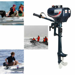 Hangkai 3.5hp 2 Stroke Outboard Motor Boat Engine Cdi System Water Cooling