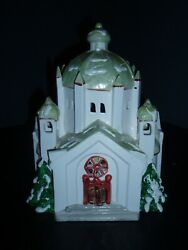 Cathedral Church Department 56 Original Snow Village 50674 Extremely Rare
