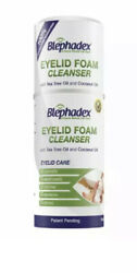 Blephadex Eyelid Foam Cleanser Blepharitis Demodex 100satisfaction Guaranteed