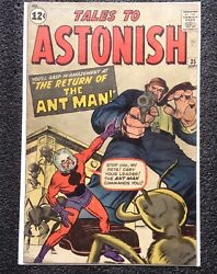 Tales To Astonish 35 - 2nd Ant Man - Marvel Comics Vo Usa Silver Age 1962