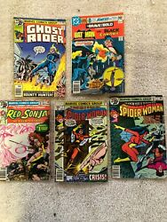 Vintage Marvel And Dc Comic Book Lot Your Choice Of Any 6