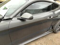 Driver Left Front Door Electric Coupe Fits 15-17 Mustang Grey 925220