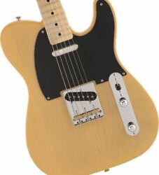 Fender Made In Japan Heritage 50s Telecaster Maple Butterscotch Blonde Jes363