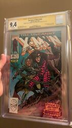Uncanny X-men 266 Cgc Ss 9.4 Claremont Kubert And Rubinstein 1st App. Gambit