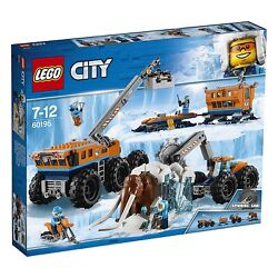 Lego City Arctic Base Mobile Of Exploration Expedition Artica Toy New 2018