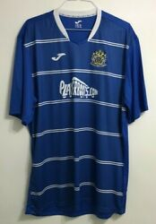 Rare Menandrsquos Adult Stockport County Home Shirt Size Xl/xxl 2015-2016 Joma