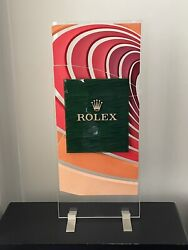 Rolex Dealership Display Stand Sand Dune