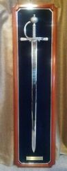 Extremely Rare Franklin Mint The Sir Francis Drake Pirate Sword From 1986