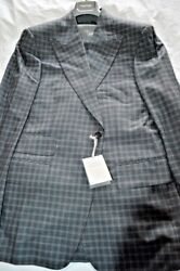 7k Nwt Tom Ford 42 Eu52 R Gray Gingham Check Menand039s 3 Piece Windsor Wool Suit