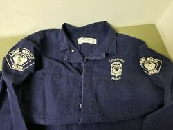 Vintage Long Beach Police Dept. Coveralls Workwear.