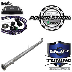 Gdp Tuning 2011-2019 Ford Powerstroke 6.7l Dp Def Egr Pipe Sotf Comp Race Kit