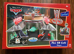 Disney Pixar Cars Floand039s V8 Cafe Playset Toys R Us Exclusive New