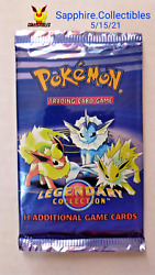 Pokemon Legendary Collection Booster Pack - Eeveelution - Vintage Factory Sealed