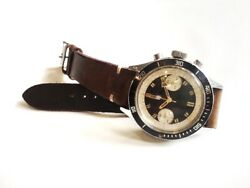 Vintage Lip Diver Chronograph Stainless Steel Wristwatch