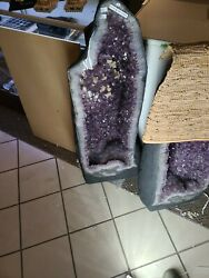Massive 320 Lb Brazilian Amethyst Cathedral Geode 46x 16 Museum Quality 69